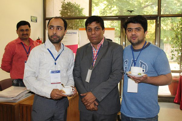 15. Areez Malik, Sanjay Gaur and Naved Ahemad at IC InnovatorsClub fourth meeting