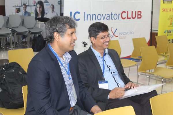 Ananda Sen Gupta and Nitin Thapliyal in IC InnovatorCLUB seventh meeting