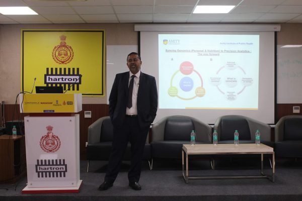 Rajeev Janardhanan from Amity university