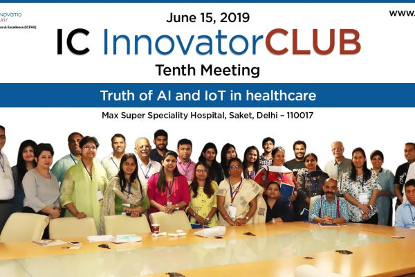 Group photo of tenth IC InnovatorCLUB meeting particpants!